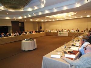 Ett fyrtiotal delegater från tolv länder samlades i Madrid under två dagar.
